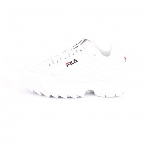 Fila Donna Sneakers DISRUPTOR LOW Bianche